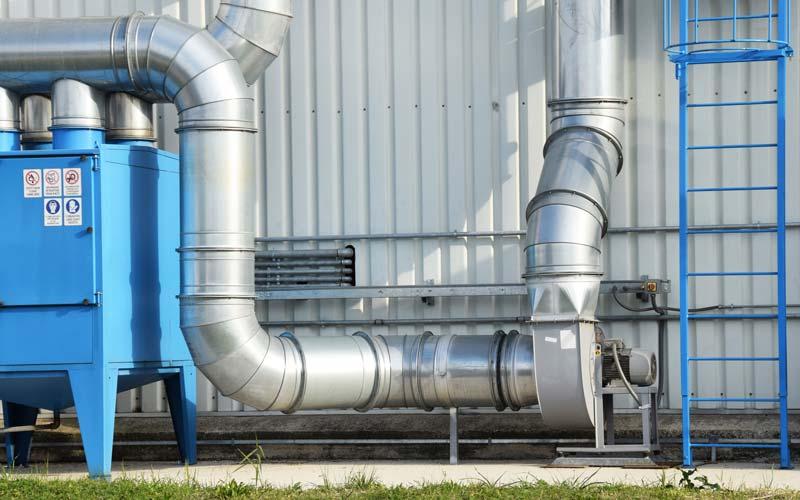 Filtri a tasche per olio impianto